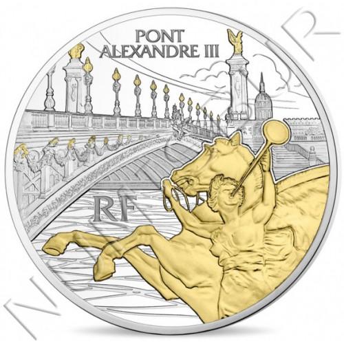 10€ FRANCIA 2018 - Puente Alejandro III