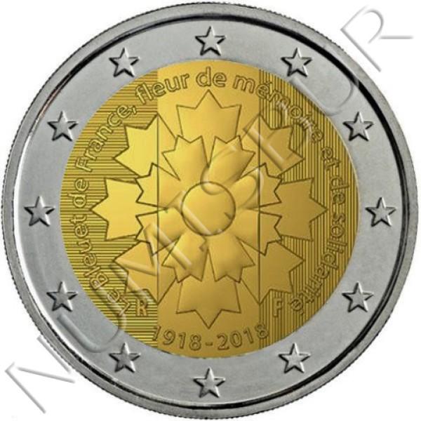2€ FRANCIA 2018 - Bleuet