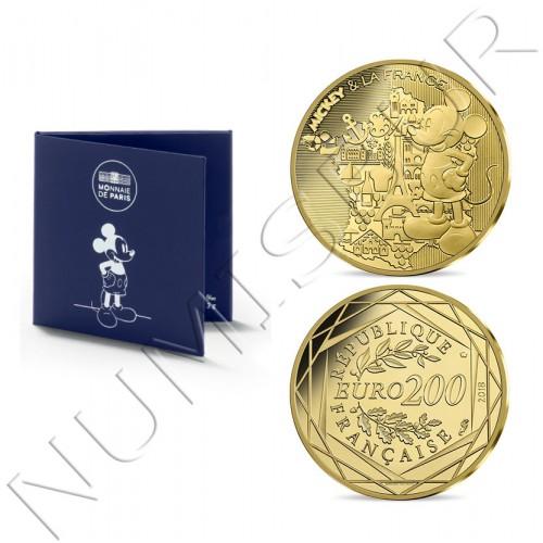 200€ FRANCE 2018 - Mickey