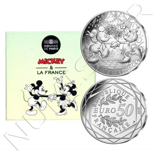 50€ FRANCE 2018 - Mickey & Minnie