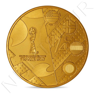 0.25€ FRANCE 2019 - FIFA Women's World Cup France