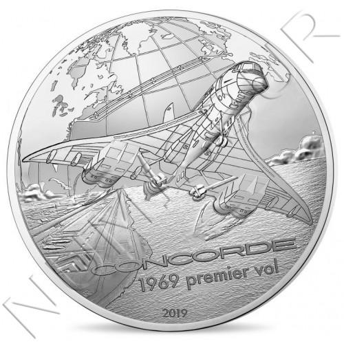 10€ FRANCE 2019 - Concorde