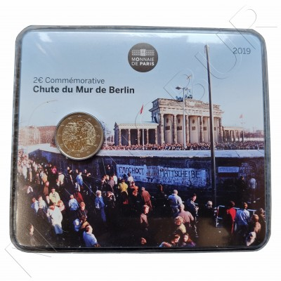 2€ FRANCE 2019 - 30 aniv. fallen wall Berlin (BU)