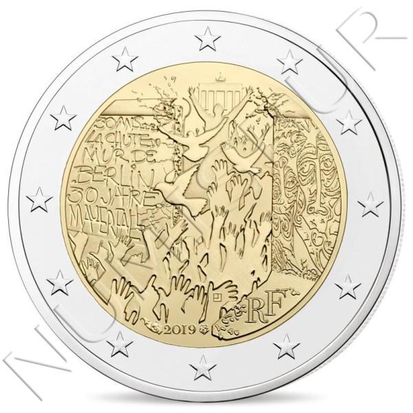 2€ FRANCE 2019 - 30 aniv. fallen wall Berlin