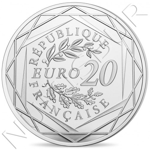 20€ FRANCE 2019 - Marianne Fraternity