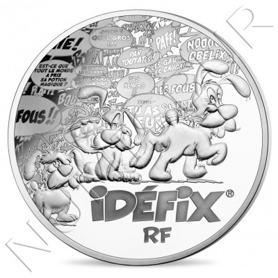 10€ FRANCE 2019 - Asterix