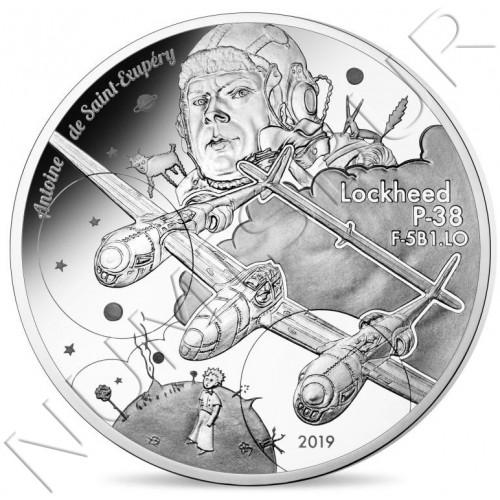 10€ FRANCIA 2019  - P38 Antoine de Saint-Exupéry