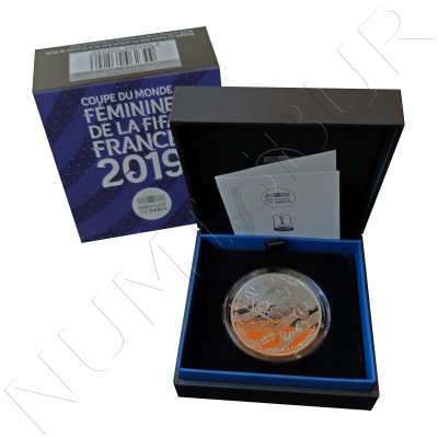 "10€ FRANCE 2019 - FIFA Women World Cup ""Goalkeeper """