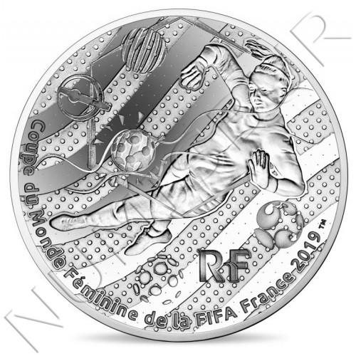 "10€ FRANCIA 2019  - FIFA Women World Cup ""Portera"""