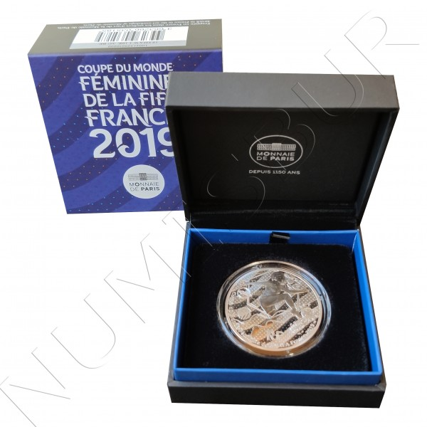 """10€ FRANCE 2019 - FIFA Women World Cup """"Volley"""""""
