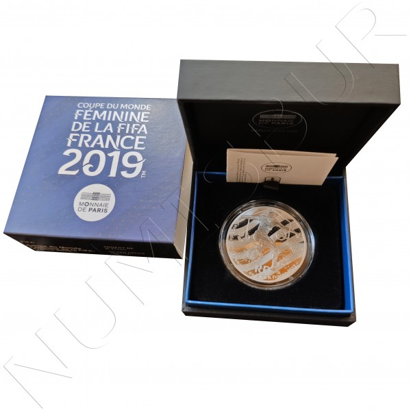 "10€ FRANCE 2019 - FIFA Women World Cup ""Dribbling"""