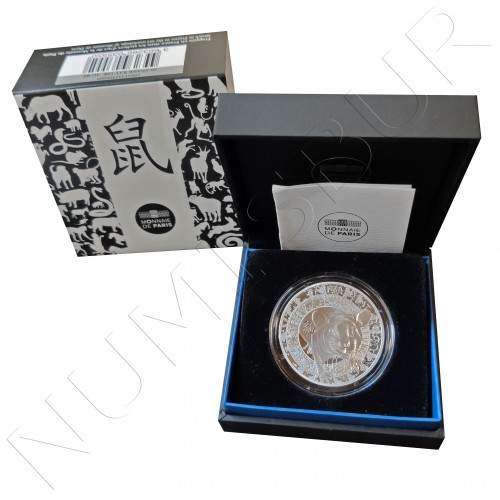 10€ FRANCE 2020 - Chinese calendar Year of the rat