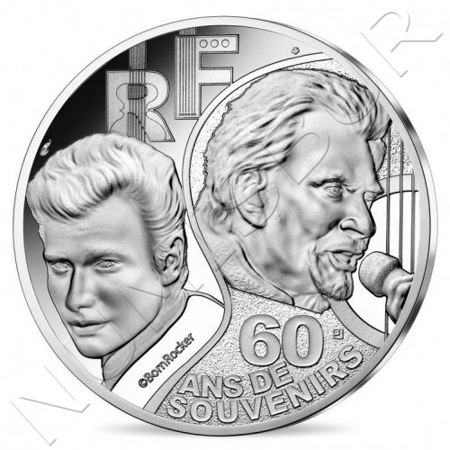 10€ FRANCE 2020 - Johnny Hallyday
