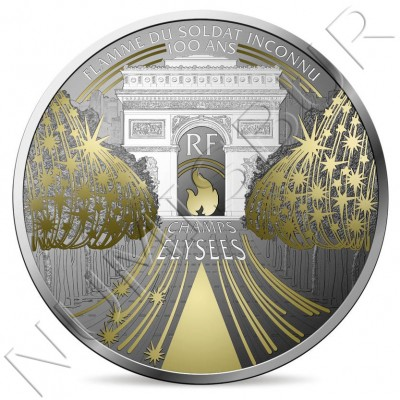 10€ FRANCE 2020 - Elysian Fields