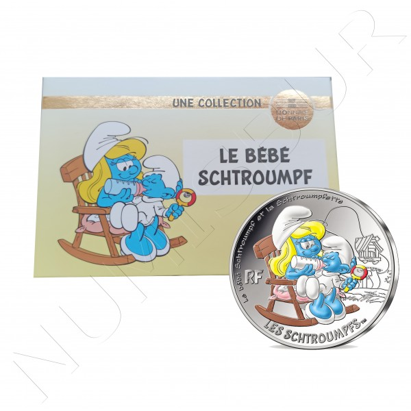 50€ FRANCE 2020 - Baby Schtroumpf