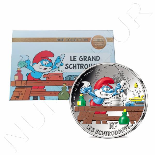 50€ FRANCE 2020 - Grand Schtroumpf