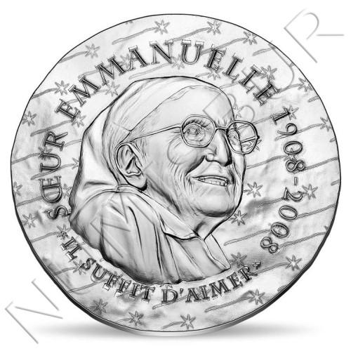 10€ FRANCE 2020 - Sister Emmanuelle