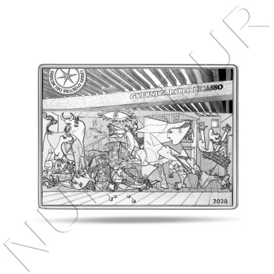 "10€ FRANCE 2020 - Guernica ""Pablo Picasso"""