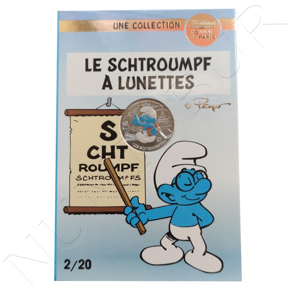 10€ FRANCE 2020 - The Smurf With Glasses 02/20