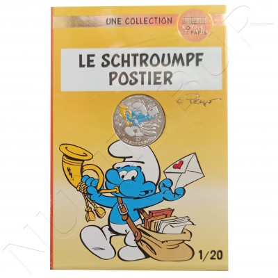 10€ FRANCE 2020 - The Postman Smurf 01/20