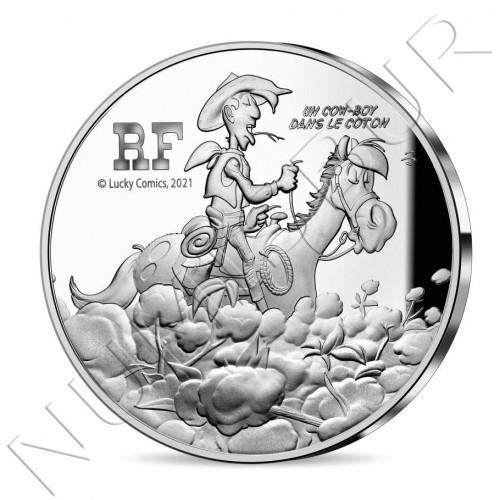 10€ FRANCE 2021 - Lucky Luke