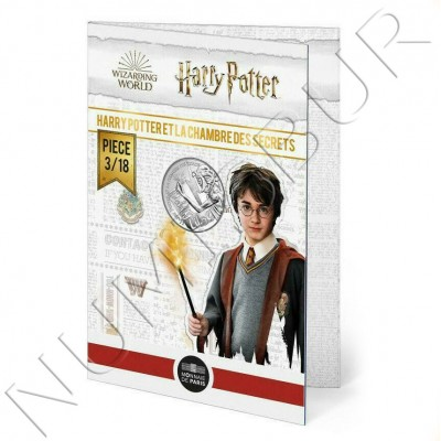 10€ FRANCE 2021 - Harry Potter and the chamber of secrets 03/18