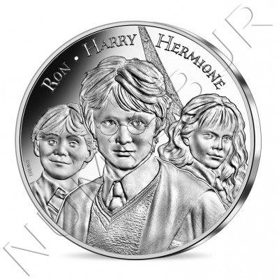 10€ FRANCE 2021 - The 3 wizards 09/18