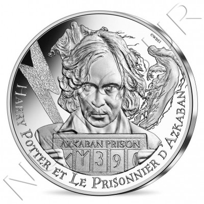 10€ FRANCE 2021 - Harry Potter and the prisoner of Azkaban 05/18