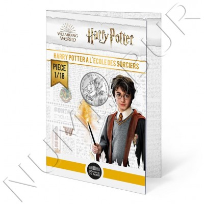 10€ FRANCE 2021 - Harry Potter and the Philosopher's Stone 01/18