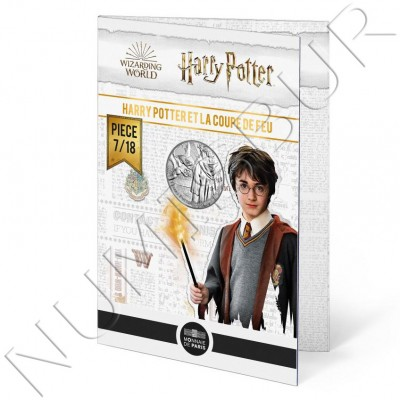 10€ FRANCE 2021 - Harry Potter and the goblet of fire 07/18
