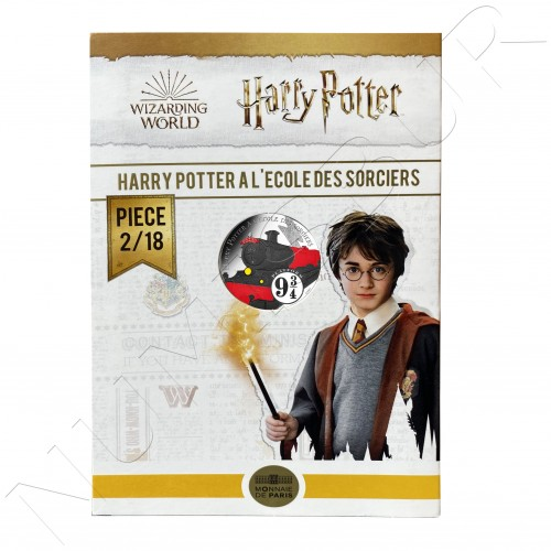 10€ FRANCE 2021 - Harry Potter and the Philosopher's Stone