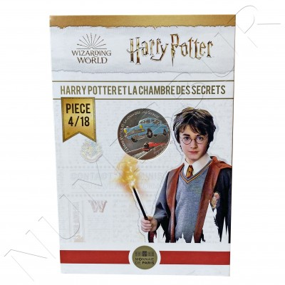 10€ FRANCE 2021 - Harry Potter and the chamber of secrets