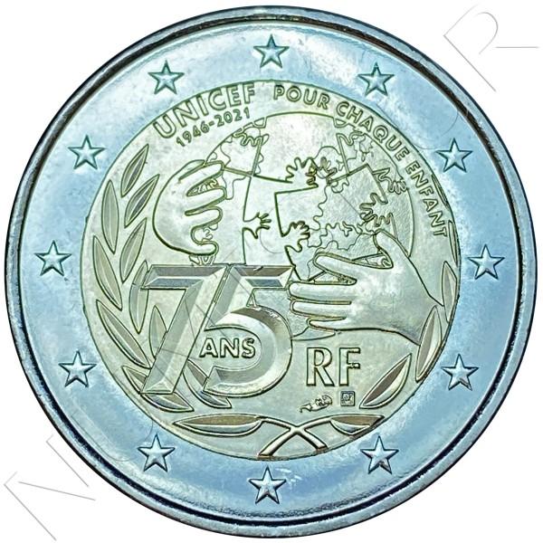 2€ FRANCE 2021 - UNICEF
