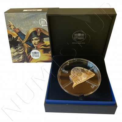 """10€ FRANCE 2021 - Napoleon I """"Bicentenary of his passing away"""""""