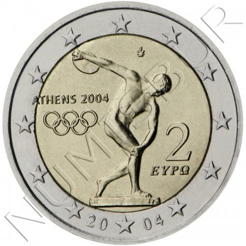 2€ GRECIA 2004 - Juegos Olímpicos de Atenas