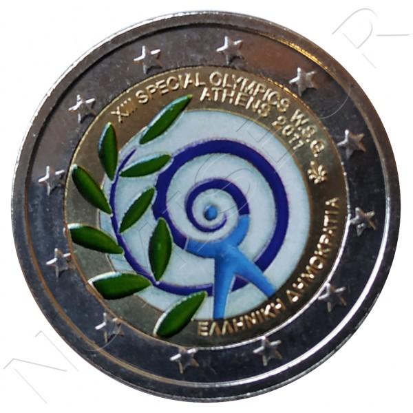 2€ GREECE 2011 - XIII Olympic Games Athenaeum