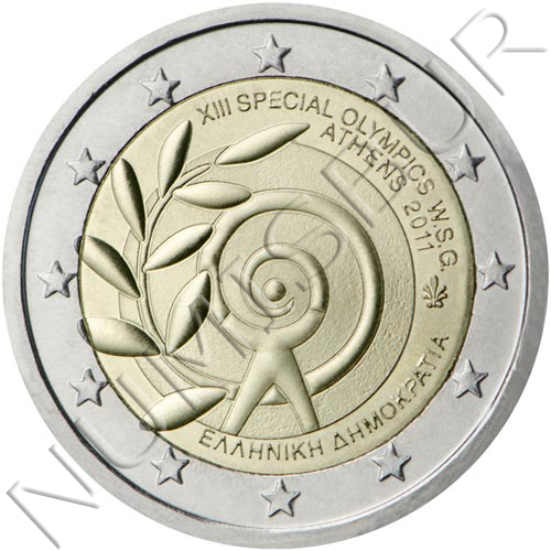 2€ GRECIA 2011 - XIII Juego olimpicos Athenas