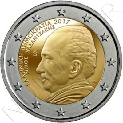 2€ GRECIA 2017 - Nikos Kazantzakis