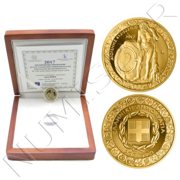 200€ GREECE 2017 - DIOGENES (412 a 404-323 a.c.)