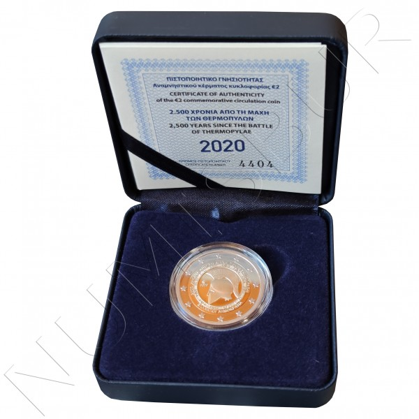 2€ GREECE 2020 - Battle of Thermopylae PROOF