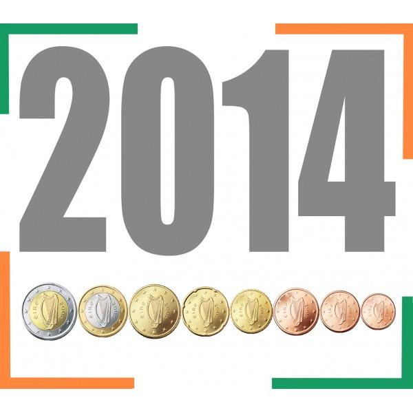 Tira IRLANDA 2014 - 8 valores