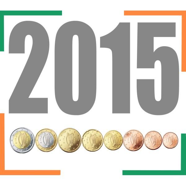Tira IRLANDA 2015 - 8 valores