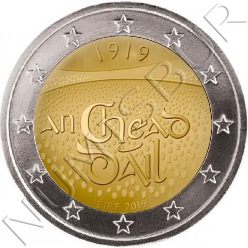 2€ IRLANDA 2019 - Centenario de la primera sesión del Dáil Éirea