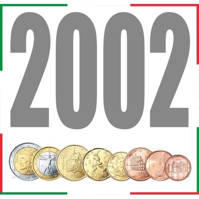 Tira ITALIA 2002 - 8 valores