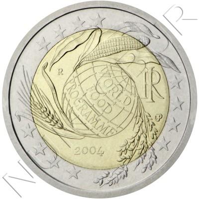 2€ ITALIA 2004 - Programa Mundial de Alimentos