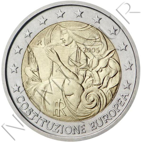 2€ ITALY 2005 - European Constitution