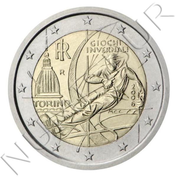 2€ ITALIA 2006 - Juegos Olímpicos de Turín