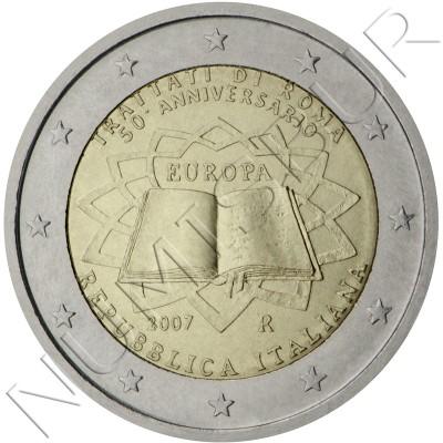 2€ ITALIA 2007 - Tratado de Roma