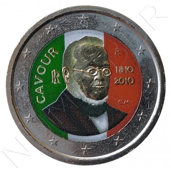 2€ ITALIA 2010 - Cavour (COLOR)