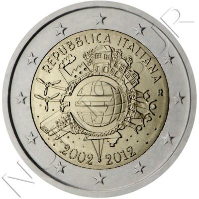 2€ ITALIA 2012 - 10º aniv. EURO